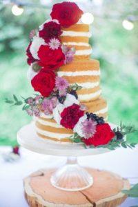 Mooie bruidstaart van CakeQueen. Foto: Ibtissam Khannoussi