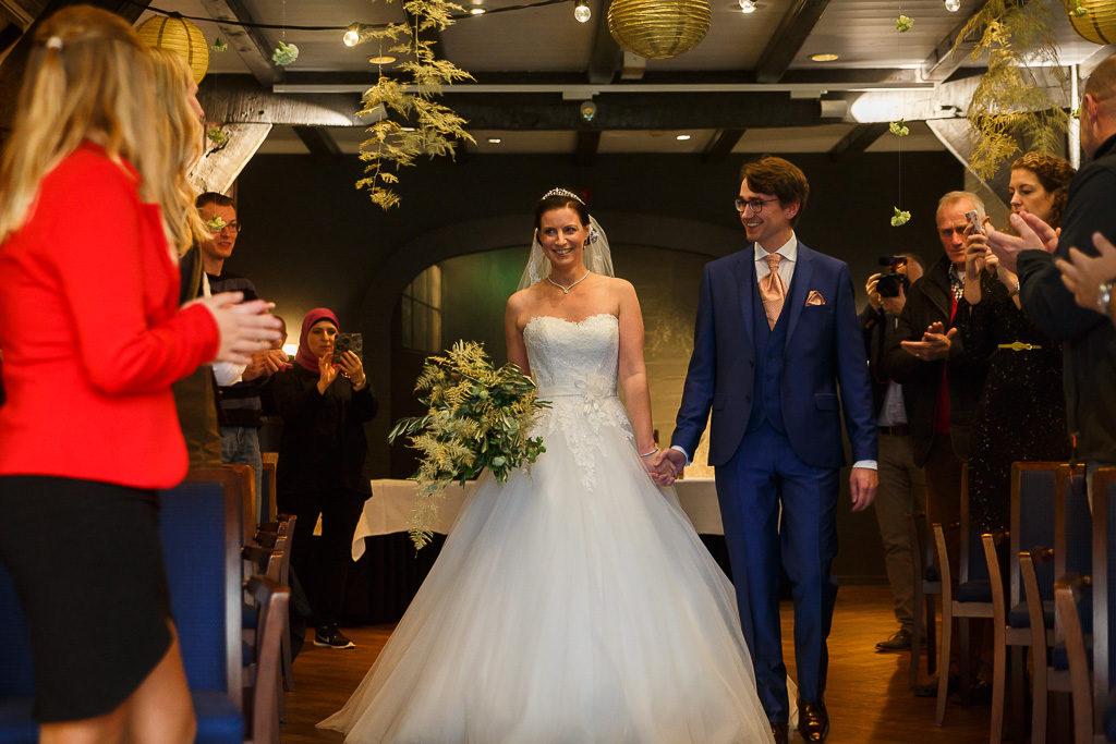 Mooie liedjes voor binnenkomst bruid